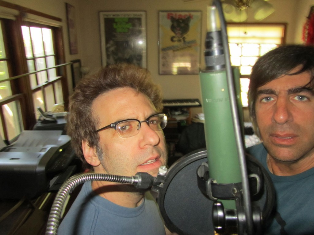Mike and Seth in the Studio